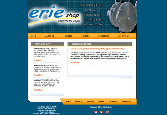 Erie Shop