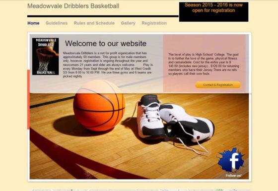 Meadowvale Dribblers Basketball