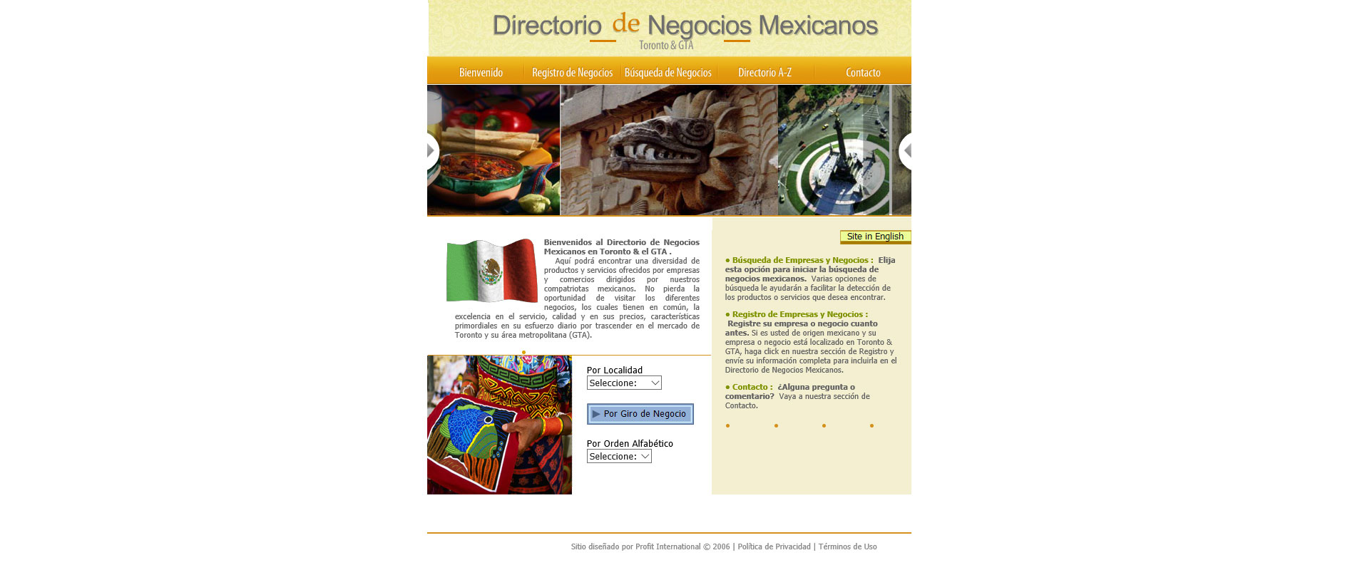 Mexican Businesses Directory