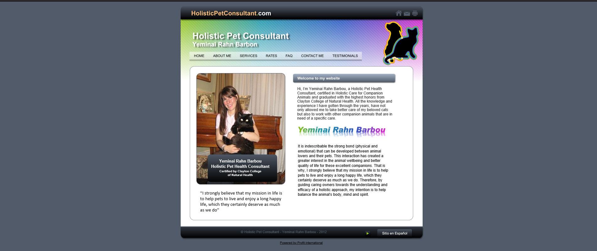 Holistic Pet Consultant