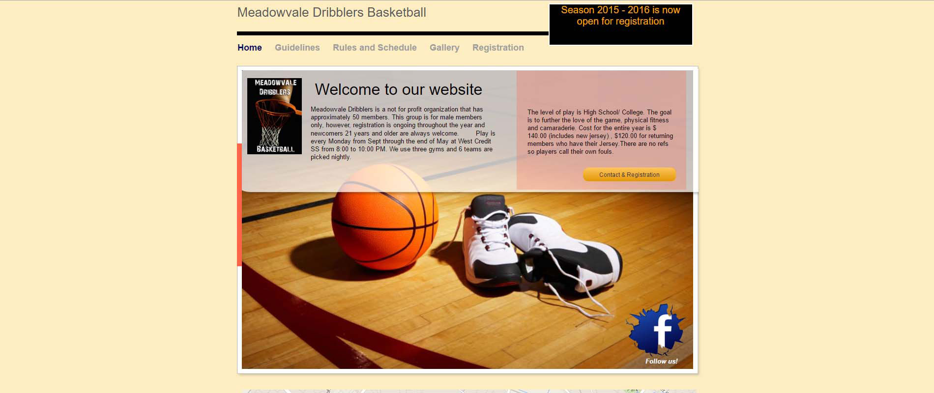 Meadowvale Dribblers Basketball